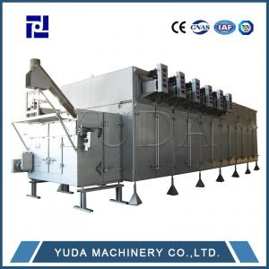 Belt crossflow dryer