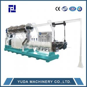 Twin-screw wet raw material extruder